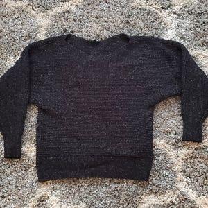 Dynamite off the shoulder sweater